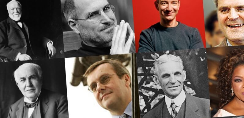 Top 30 Influential Entrepreneurs Of All Time   Successful ...