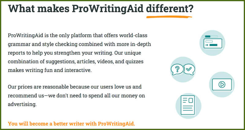 writing aid for authority website writers